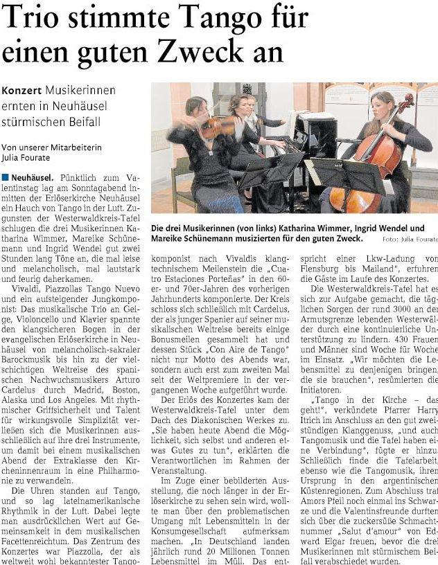 Rhein-Zeitung v. 18.02.2016